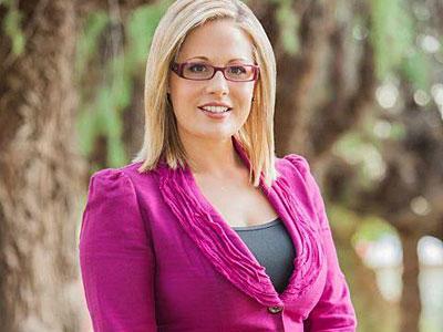 kyrsten sinema, First openly Bisexual Congresswoman