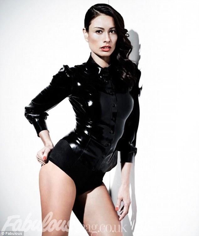 Melanie Sykes Bodysuit Defies Age