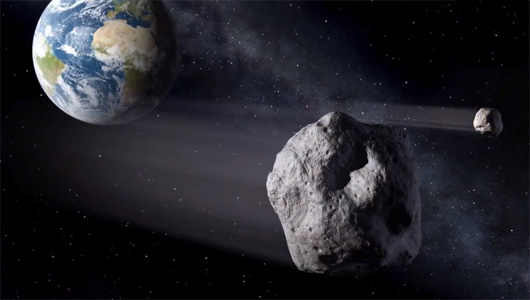 Asteroid to fly by Earth this weekend