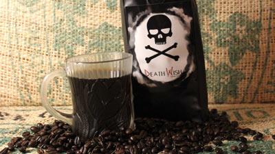 Death Wish Coffee:  'World's Strongest Coffee' Has Disclaimer