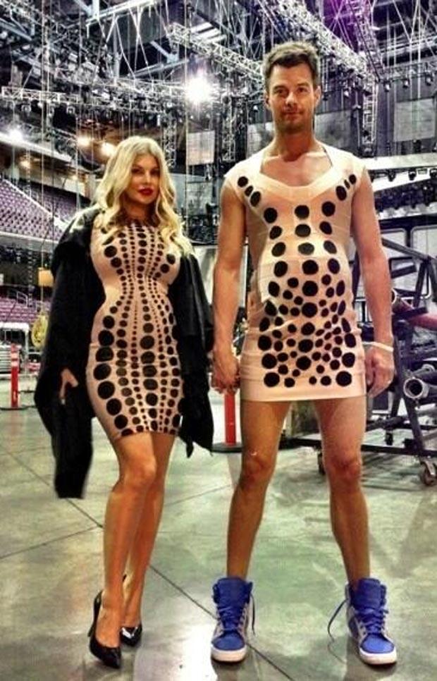 Fergie Baby Bump A Big Hit Awards Show