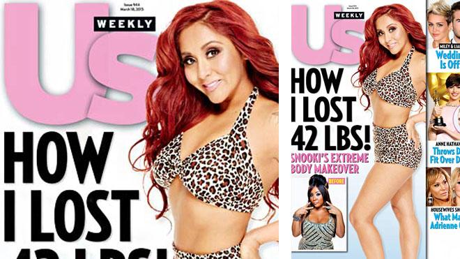 Snooki Drops 42 Pounds: Shows Off Bikini Bod On Mag Cover (PHOTO)
