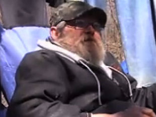 Homeless man wins lottery, wants to stay in tent