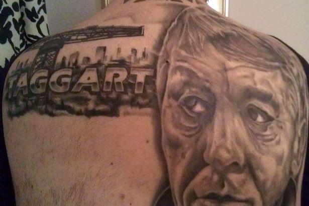 Taggart Fan Gets Impressive Detective Tattoo