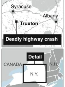 7 Dead in Upstate N.Y. After Tractor-trailer, minivan collide