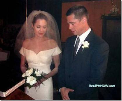 Angelina Jolie and Brad Pitt marry Following Double Mastectomy Revelation