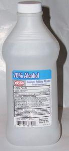 Bar served rubbing alcoho