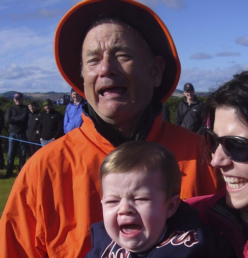 Bill Murray Crying Baby Pic Makes Us Laugh