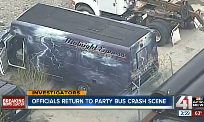 Party Bus Crash In California Leaves One Woman Dead 10 More Injured (PHOTO)