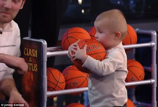 Shaq, 2-year-old Go Head-To-Head In Shooting Contest