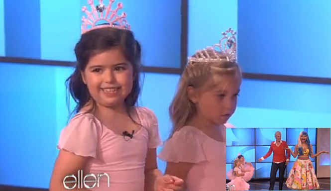 "Sophia Grace, the adorable 10-year-old pop singer who first grabbed the Internet's attention in 2011 when a video of her singing ""Super Bass"" by Nicky Minaj went viral, is taking her act up a notch with a new song and music video: ""Girls Just Gotta Have Fun."""