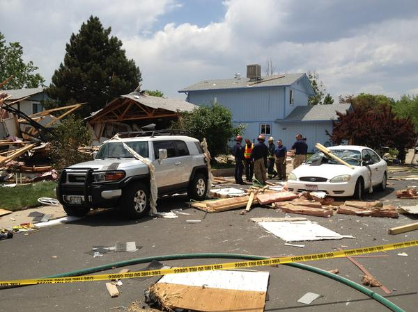 Westminster Explosion Damages Four Homes (PHOTO)