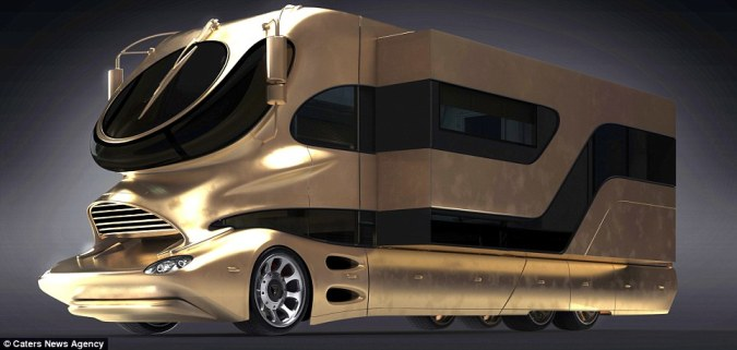 World's most expensive caravan goes on sale  for £2m