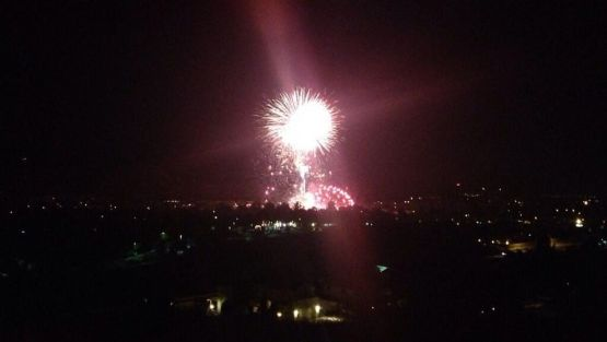 "A fireworks mishap in a town northwest of Los Angeles has left more than a dozen injured after an ""unintended"" detonation took place during the Fourth of July fireworks display, police said. (@dennert)"