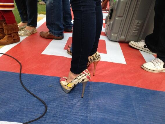 RG3 Wife 'Skins' Heels Not Enough Motivation For Win
