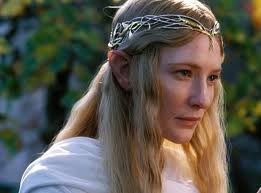cate blanchett displays her lord of the rings elf ears