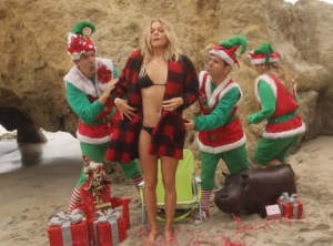 LeAnn Rimes' Christmas Video Promo Released - It's Raunchy