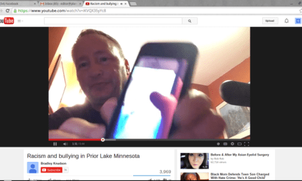 Prior Lakes dad Brad Knudson:  Father Uploads Emotional YouTube Video About Bullying (VIDEO)