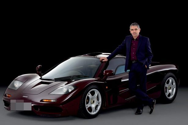 Rowan Atkinson car:  Actor Is Sell His Mclaren F1 For A Cool $15M