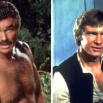 "Burt Reynolds once admitted that his biggest regret was passing up the role of Han Solo in 1977 film Star Wars. The role went to Harrison Ford, a struggling actor who was then working as a carpenter. Reynolds once said: ""I think that has to be the biggest mistake of my career. I blame the agent. It was not all down to me."" Picture: AP/Lucas Films"