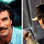 Harrison Ford was not the first actor that Steven Spielberg and George Lucas pursued for the role of Indiana Jones in 'Raiders of the Lost Ark.' 'Magnum P.I.' actor Tom Selleck was offered the role first but had to decline after his TV network exercised its option and he wasn't able to get a release to do the movie.