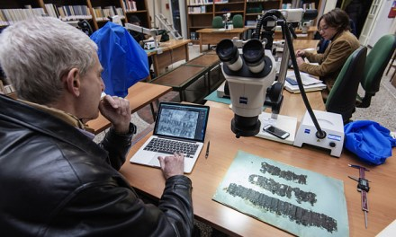 Scientists use X-rays to decipher charred Vesuvius scrolls