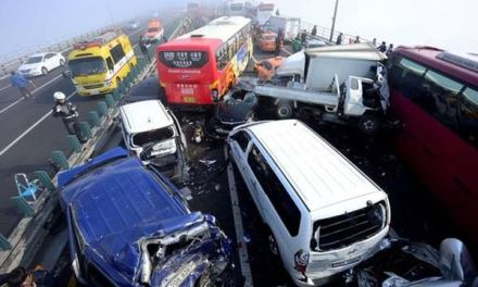 South korea Pileup: 2 Dead, 68 Hurt (PHOTO)