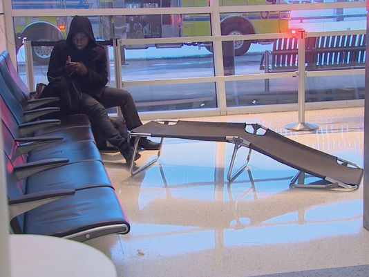 Passengers say winter weather caused lots of cancellations and major frustrations at D/FW Airport. (Photo: WFAA)