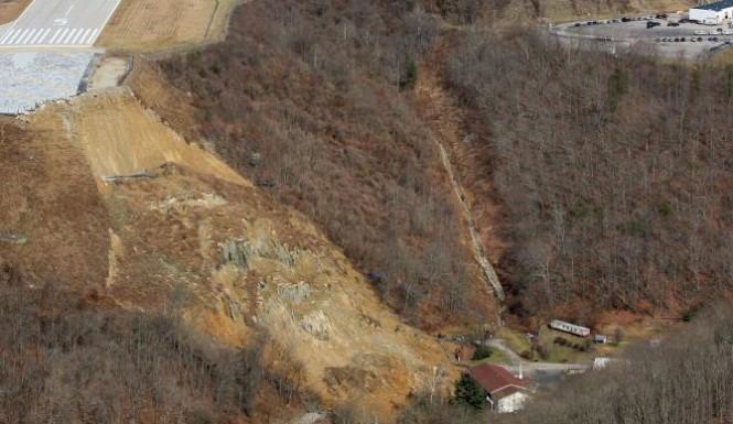 West Virginia Landslide:  1 Home Destroyed, 25 Others Evacuated (PHOTO)