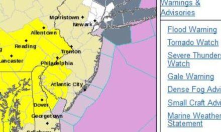 New Jersey tornado watch:  Tornado Watch For Parts Of Garden State – UPDATE