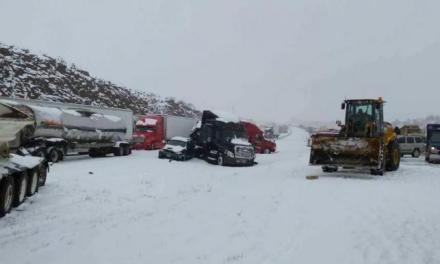 Northeast winter storm: New Mexico snowfall sets record