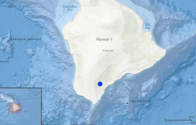 Hawaii Earthquake Damage Minimal:  Small Earthquake Shakes main Island