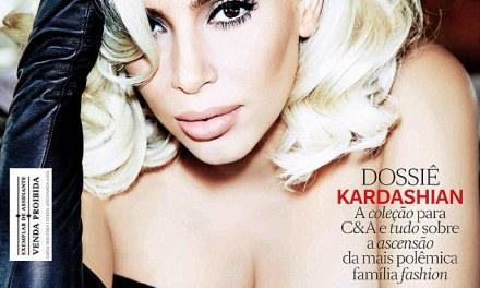 Kim Kardashian Goes Blonde For Mag Cover