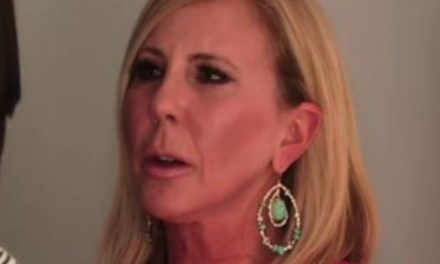 Vicki Gunvalson Breaks down during commercial
