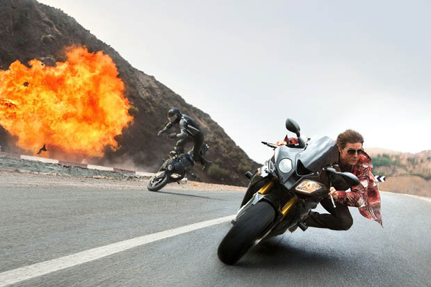WANTED: Tom Cruise is on the run in the upcoming Mission: Impossible - Rogue Nation [PARAMOUNT PICTURES]