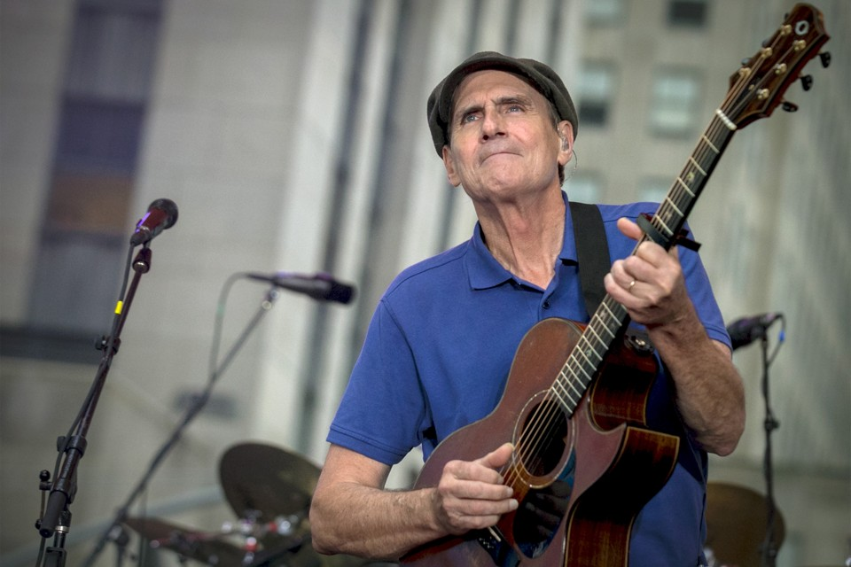 James Taylor No. 1: Taylor Scores his First Number One Hit Album</