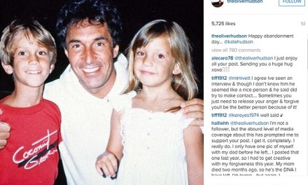 Oliver Hudson dad Speaking For First Time After 12 Years