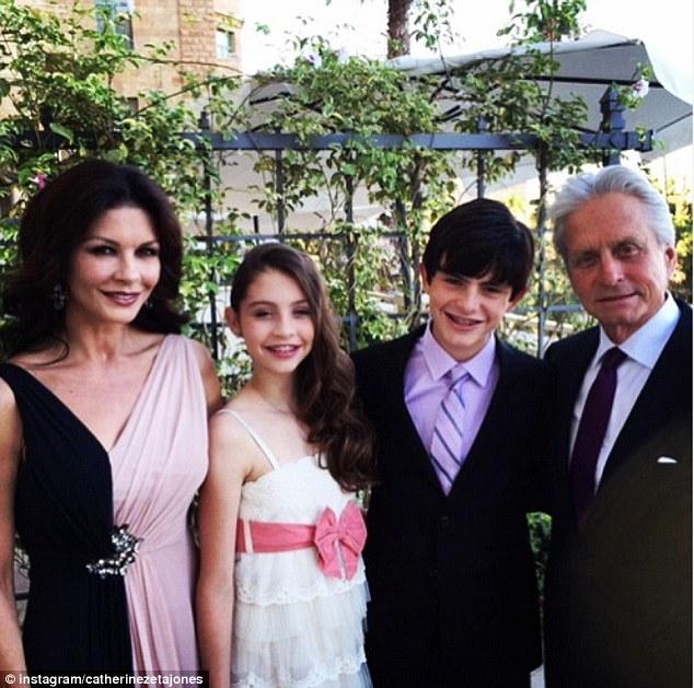 michael douglas family