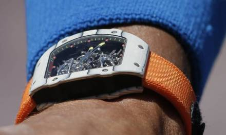 Rafael Nadal Rocks 775,000 watch (PHOTO)