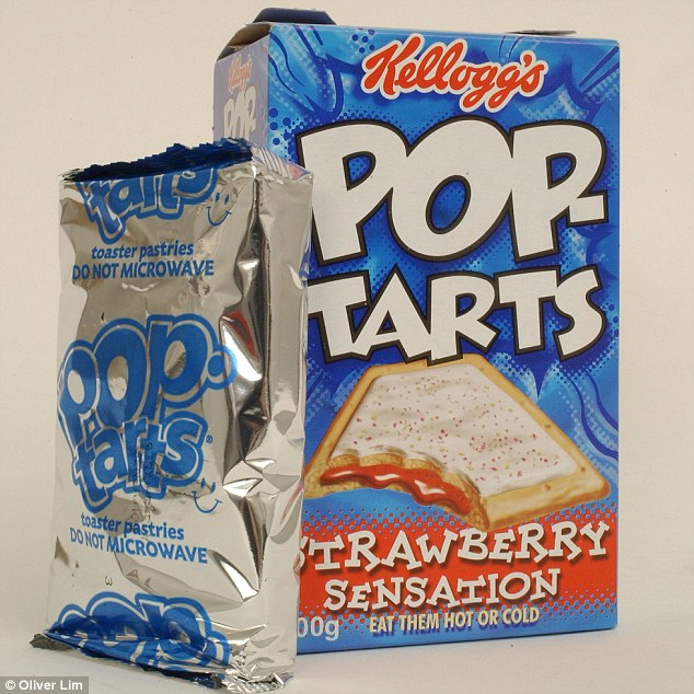 The mother and father forced their child to live in a tent after she ate a Pop-Tart without their permission, police have claimed (file picture)