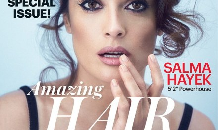Salma Hayek Poses Topless For Allure