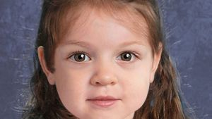 A composite of a young girl found dead on a Massachusetts island is seen in this National Center for Missing and Exploited Children image. (National Center for Missing and Exploited Children)