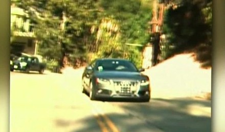 reverse driver In los angeles Caught On Camera (VIDEO)