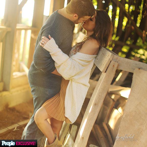 Amy Duggar Engagement Shoot Was Surprisingly A Bit Racy