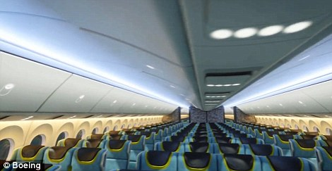 777-9X will seat at least 400 passengers with a superwide cabin and larger, higher windows