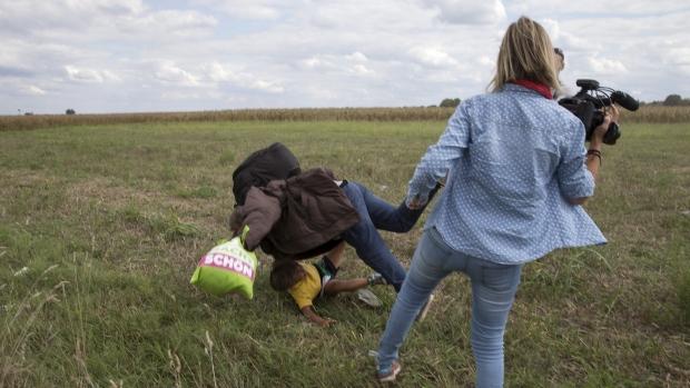 Hungarian journalist fired