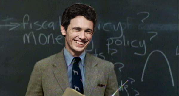 James Franco The High School Teacher?