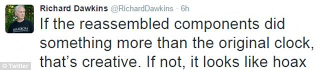 Richard Dawkins clock