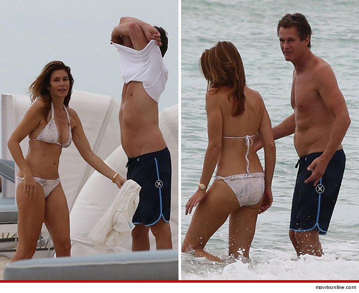 Cindy Crawford Shows Fans What She Really Looks Like in a Bikini