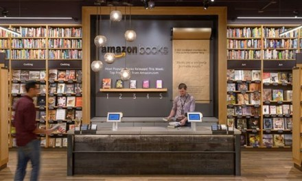 Amazon physical bookstore opens